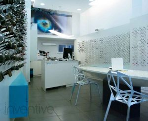 Magasin d'Optique / Design Gregoire Ruault